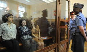 Pussy Riot members appear in court