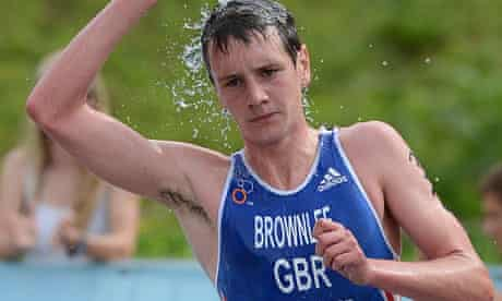Alistair Brownlee built an underwater treadmill to aid with his recovery after injury.