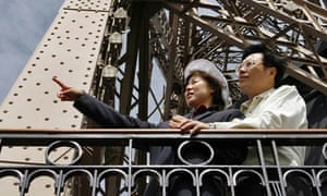China's overseas tourists