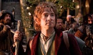 Martin Freeman in The Hobbit.