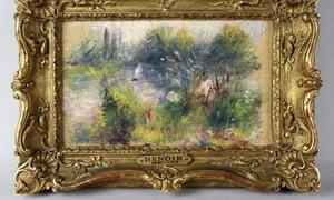 Renoir painting found at flea market