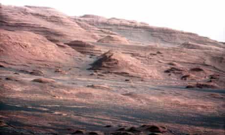Mars, by Curiosity rover