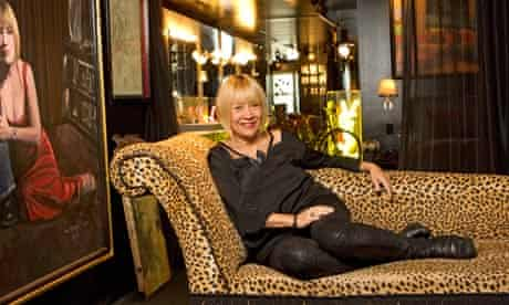 Cindy Gallop pictured at her home in New York.