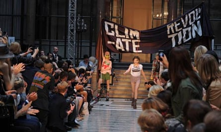 Vivienne Westwood show, Spring Summer 2013, London Fashion Week, Britain - 16 Sep 2012