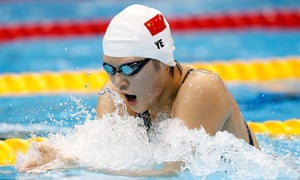 Olympic Games 2012 Chinese swimmer