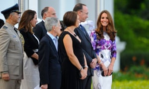Duke and Duchess of Cambridge in Singapore - Day One