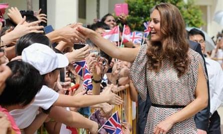 The Duke And Duchess Of Cambridge Diamond Jubilee Tour - Day 2