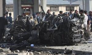 Suicide car bombing Kabul