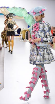 Meadham Kirchoff  Show, Spring Summer 2013, London Fashion Week, Britain - 18 Sep 2012