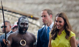 Duke and Duchess of Cambridge in Solomon Islands