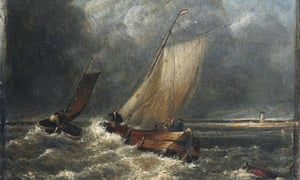 Missing Turner S Painting With Ship