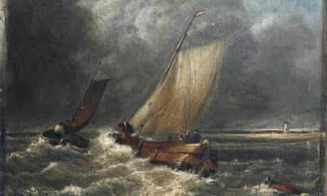 Missing Turner painting