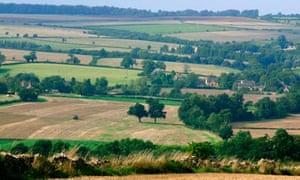 Cotswolds farming landscape