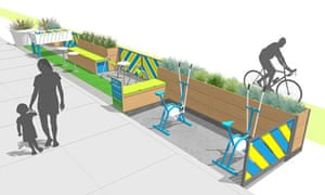 A design for a parklet