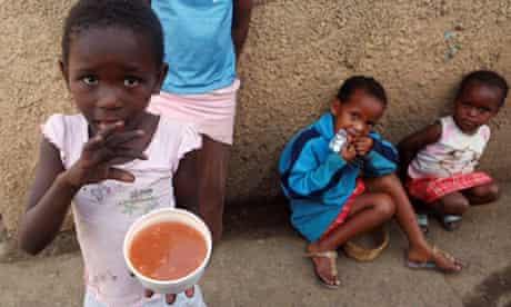 Children from the Kennedy Road Settlement, Durban