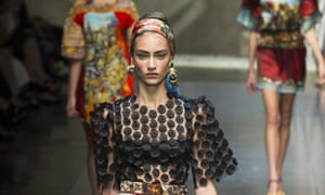 ee366f3668 Did Dolce   Gabbana send racist earrings down the catwalk