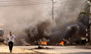 Riot in Mombasa
