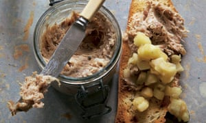 Hugh Fearnley Whittingstall's rabbit rillettes with apple relish recipe
