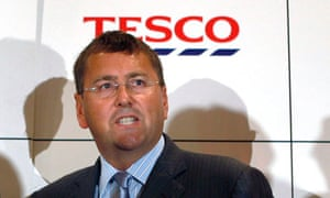 Tesco's chief executive, Philip Clarke