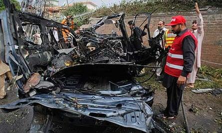 Peshawar car bomb