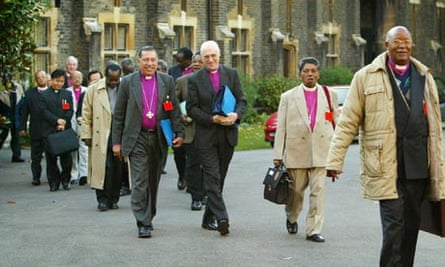 Anglican primates, gay clergy