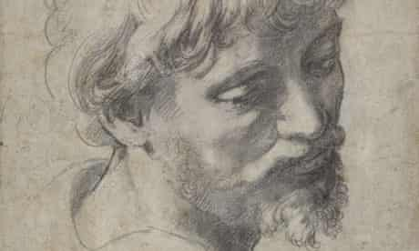Raphael Head of An Apostle