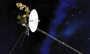 An artist's rendering of one of Nasa's twin Voyager spacecraft