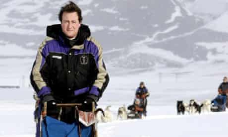 David Cameron in Svalbard, Norway.