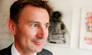 Concerns have been raised over Jeremy Hunt's appointment as health secretary