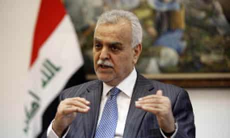 Iraq's vice-presidentTariq al-Hashemi