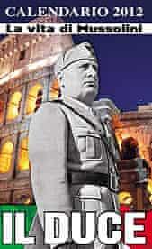 Mussolini calendar
