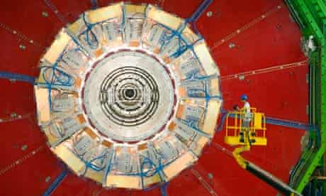 A compact muon solenoid looking for the Higgs boson particle
