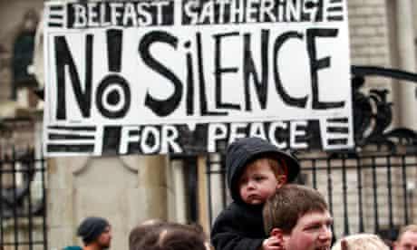 Belfast peace rally