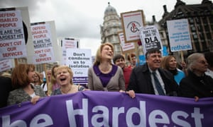 Disability Living Allowance protest