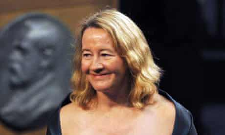 Carol W Greider receives the Nobel prize in Physiology or Medicine in 2009.