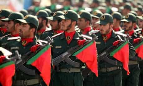 Iran's Revolutionary Guards