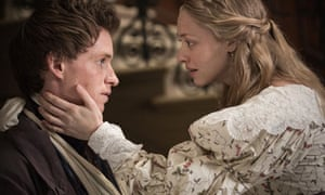 Eddie Redmayne and Amanda Seyfried in Les Misérables
