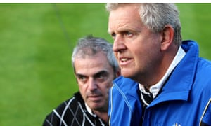Paul McGinley and Colin Montgomery