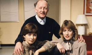 BREAKFAST Time BBC 1983 Debbie Rix, Frank Bough and Selina Scott