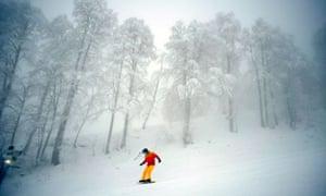 snowboarder  Sochi