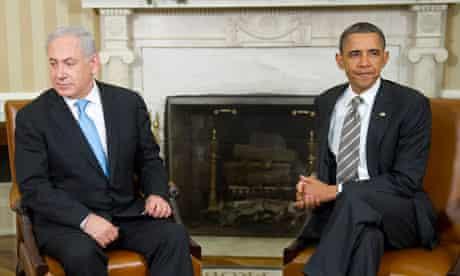 Binyamin Netanyah and Barack Obama