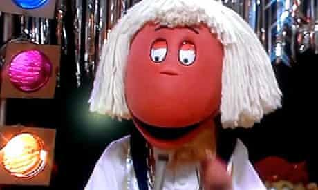 Tweenie dressed as Jimmy Savile