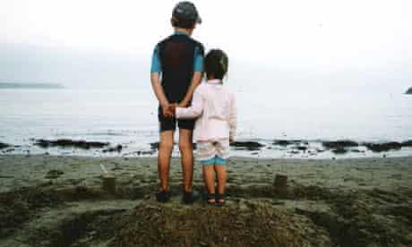 Stuart Ackland's children, Tom and Molly