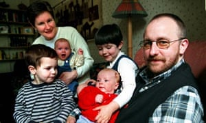 Stephen Whittle and family