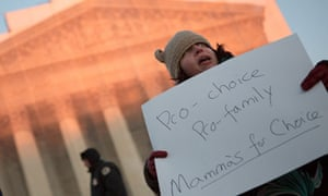 NOW Commemorates 40th Anniversary of Roe V. Wade At Supreme Court