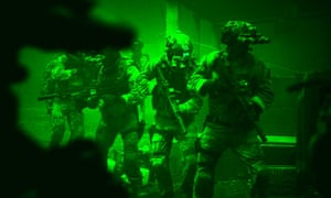 Zero Dark Thirty: Navy Seals raid Bin Laden's compound