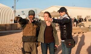 Kathryn Bigelow Zero Dark Thirty film set