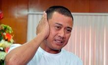 Filipino survivor Joseph Balmaceda
