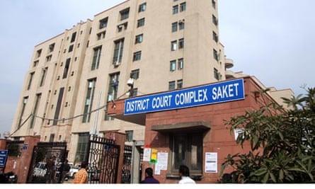 Delhi Saket court