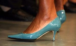 Michelle Obama's heels